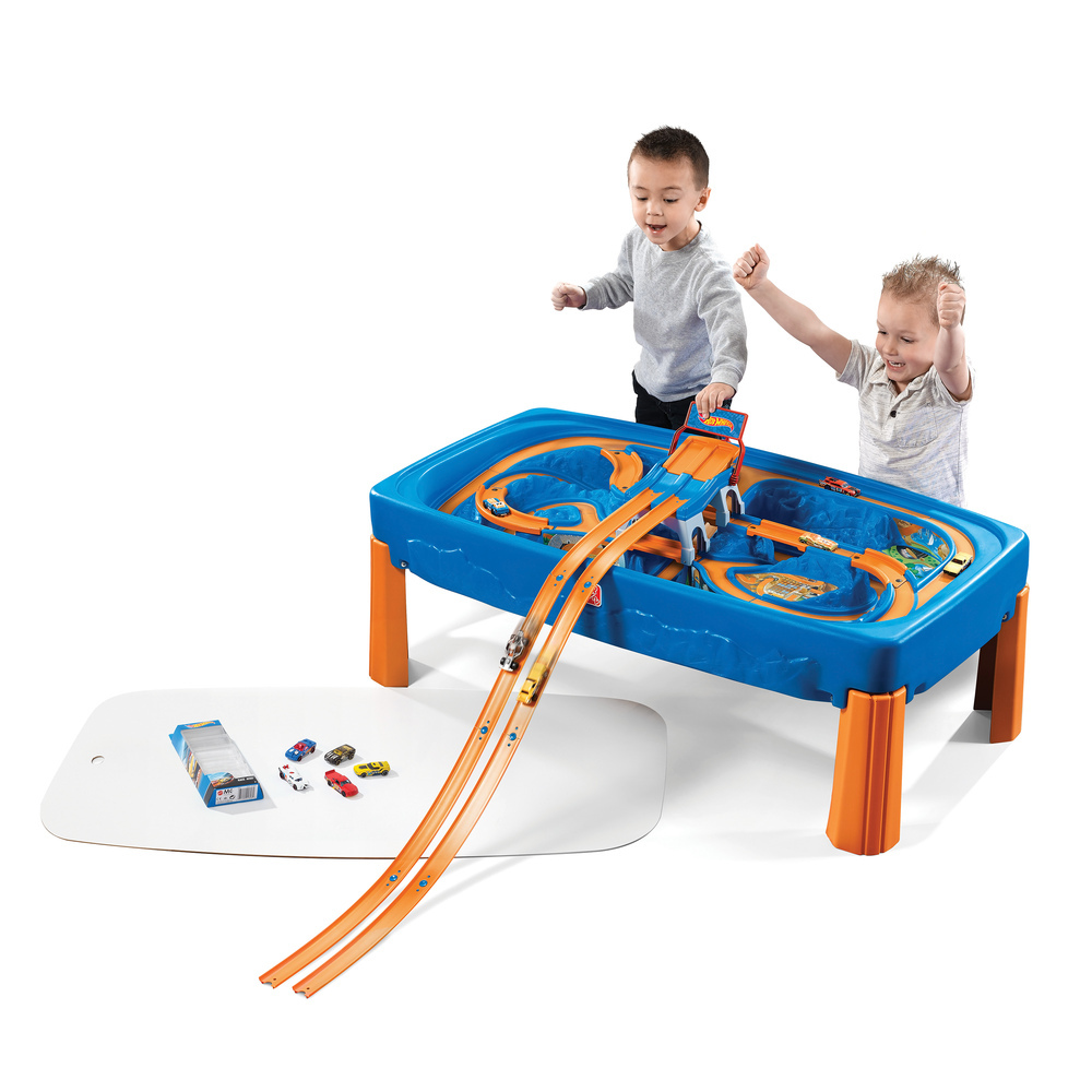 ... Step2 Hot Wheels Car U0026 Track Play Table ...