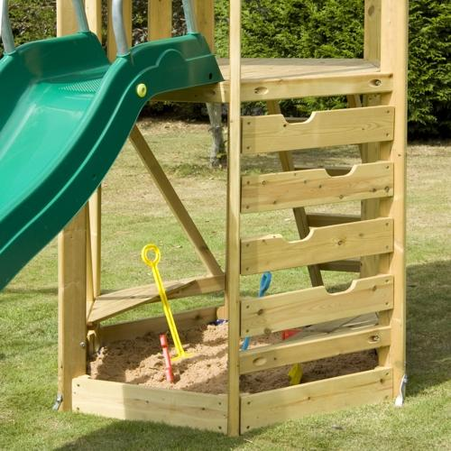TP Castlewood with Double Swing Arm & CrazyWavy Slide