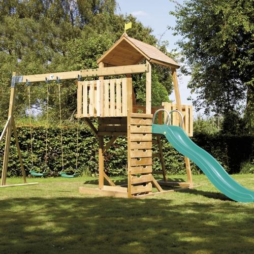 TP Kingswood 2 Tower and Swing arm with CrazyWavy Slide