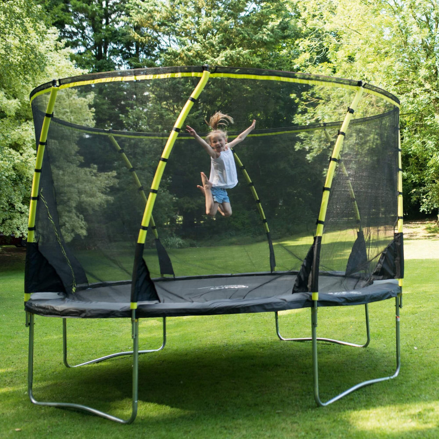 plum whirlwind trampoline and enclosure 8ft 10ft 12ft. Black Bedroom Furniture Sets. Home Design Ideas