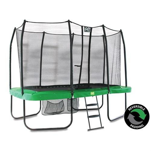 EXIT Toys JumpArena Rectangular All-in one Trampoline