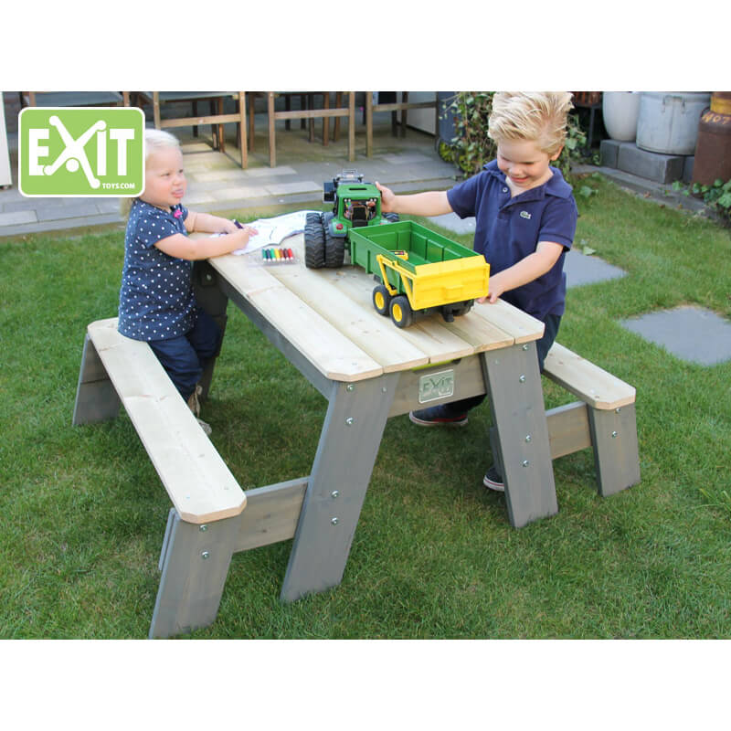EXIT Toys Aksent Sand & Water Picnic Table