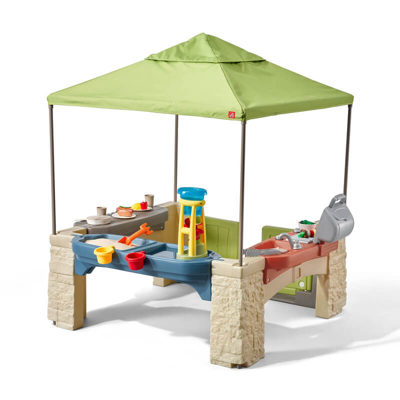 Step2 All-Around Playtime Patio with Canopy