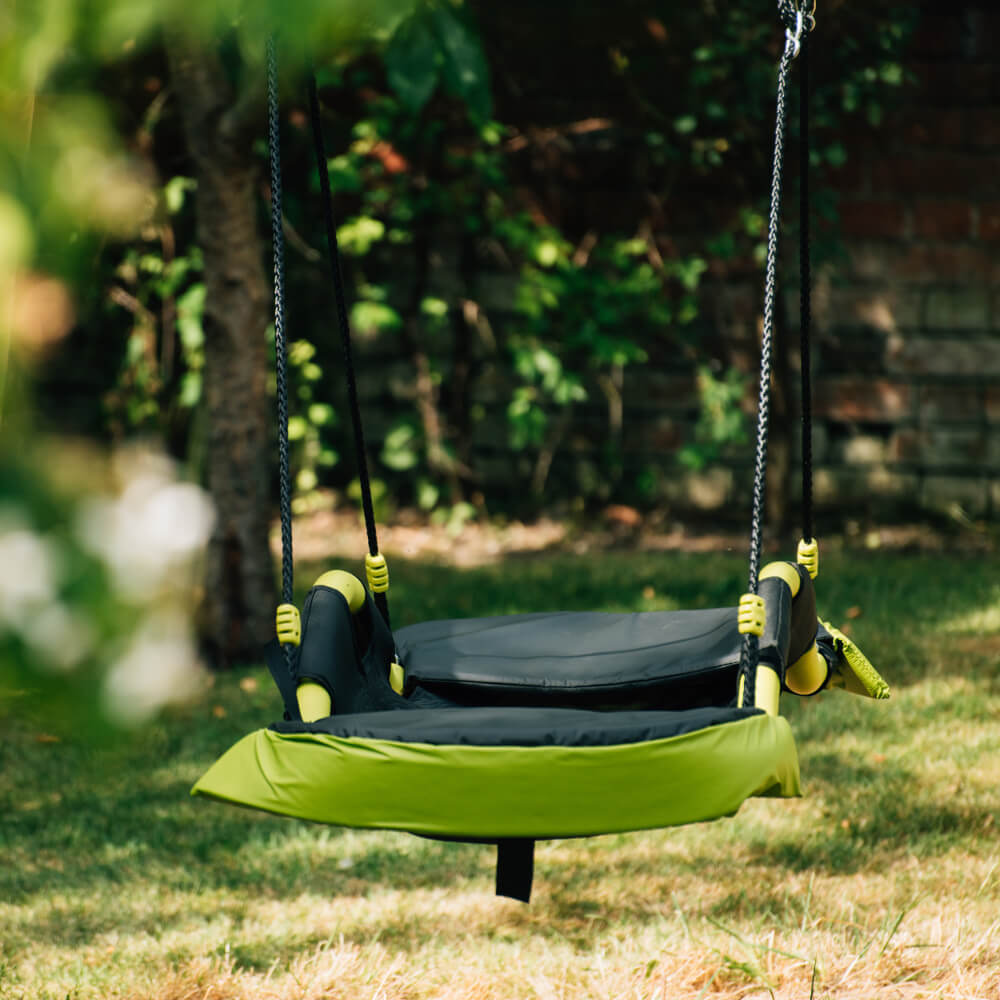 Plum Glide Nest Swing Seat