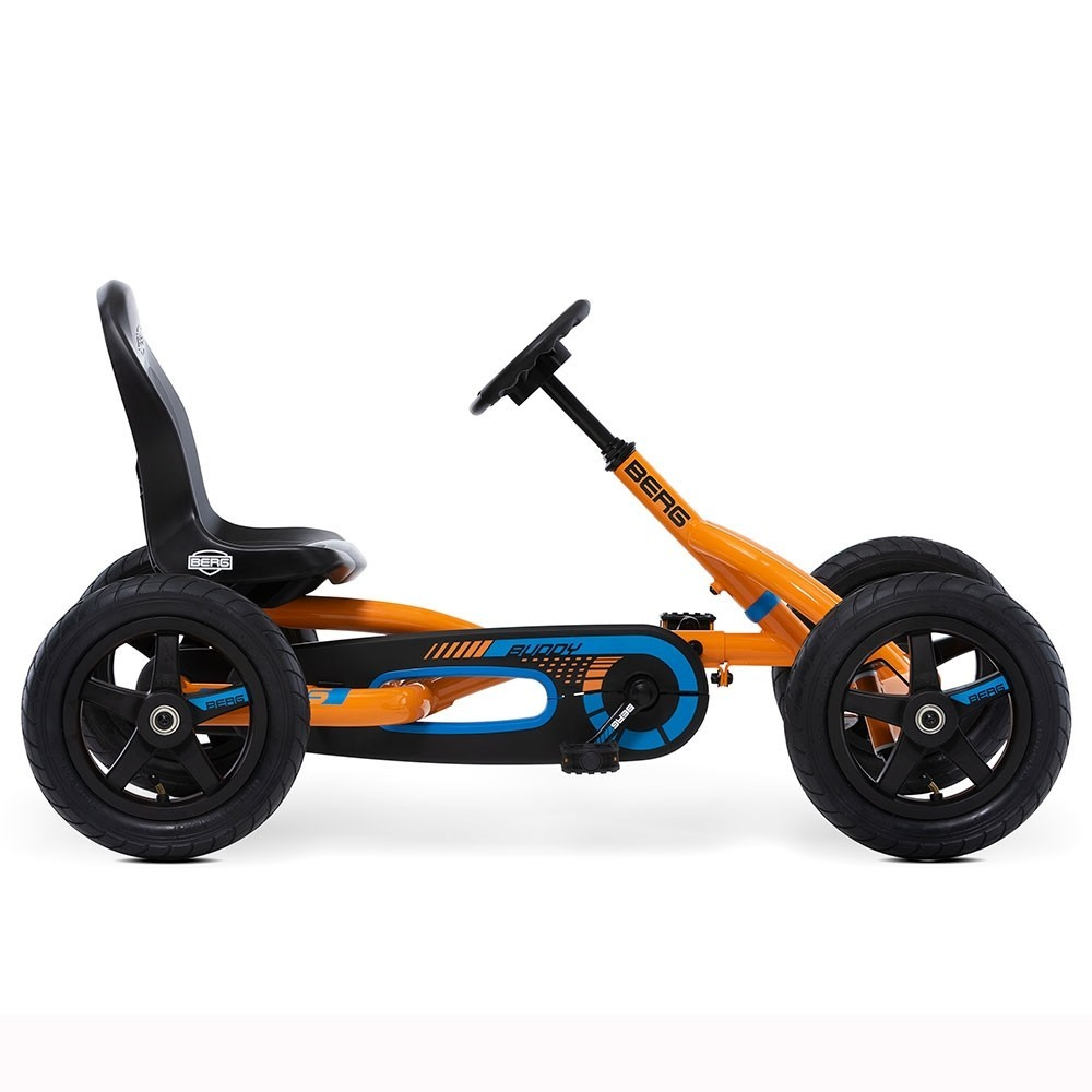 BERG Buddy B-Orange Pedal Go-Kart