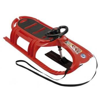 KHW Snow Tiger Deluxe Sledge - Red