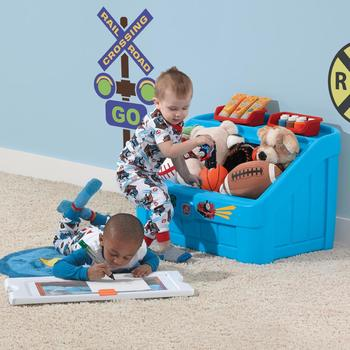Storage Thomas the Tank Engine 2-in-1 Toy Box & Art Lid
