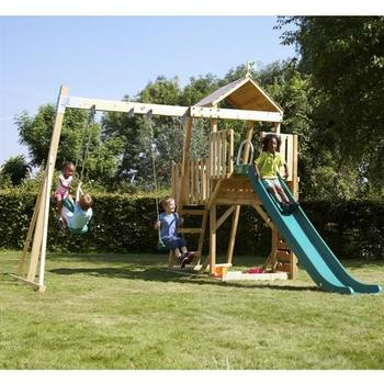 TP Kingswood 2 Tower & Swing Arm, Rapide Slide and Skyride