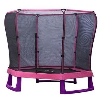 Plum 7ft Junior Trampoline - Pink and Purple
