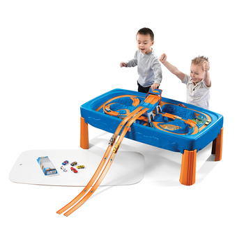 Step2 Hot Wheels Car & Track Play Table